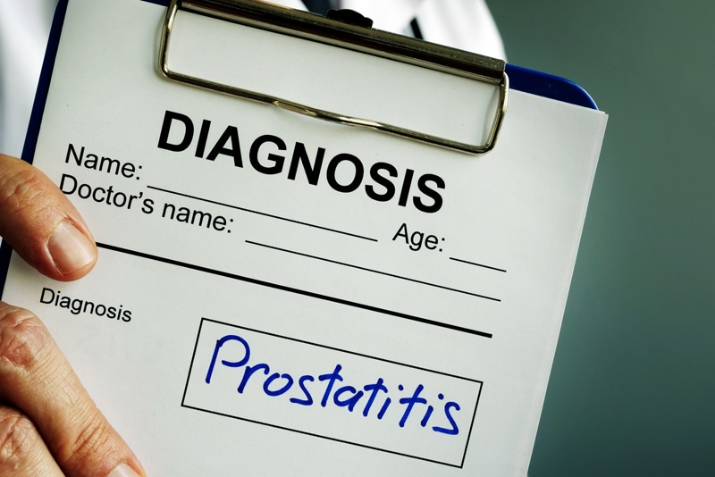 acute bacterial prostatitis icd 10