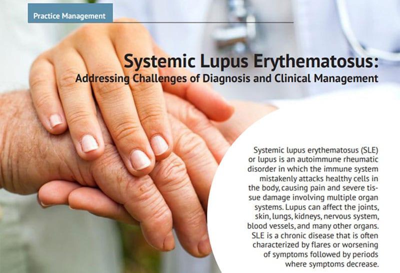 Bc Advantage Magazine Publishes Osi S Article On Systemic Lupus Erythematosus